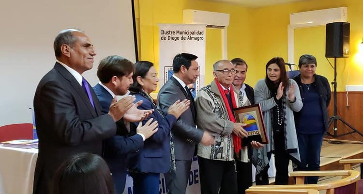 Destacan labor de exconcejal Jorge Pino Alquinta de Vallenar