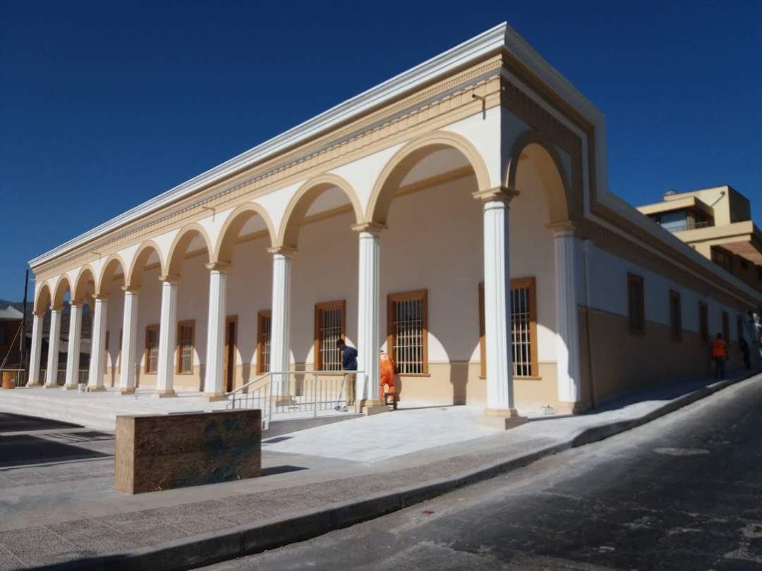 Inauguran obras de restauración del edificio Los Portales en Freirina