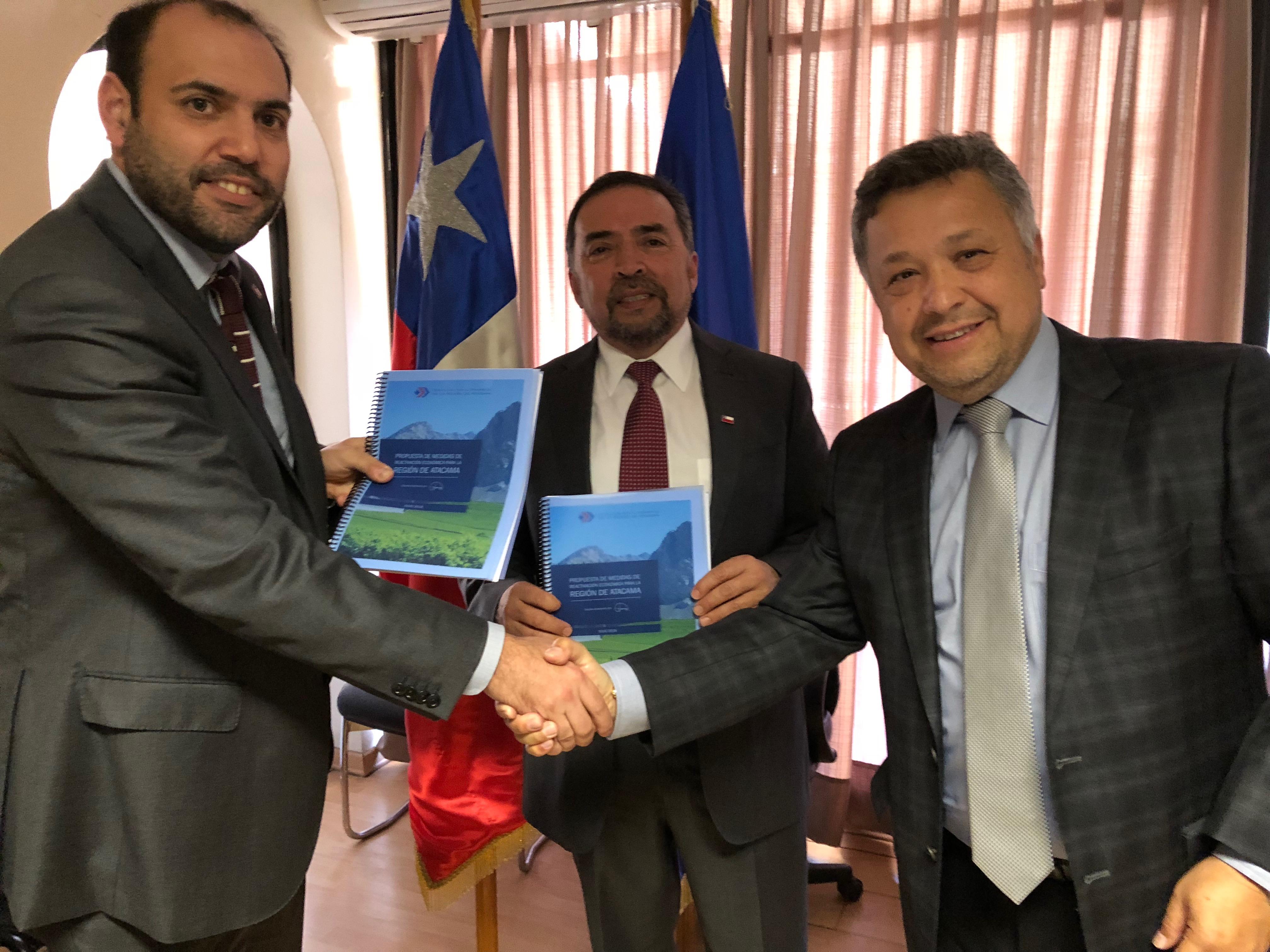 CORPROA entrega a las autoridades propuestas para la reactivación económica de Atacama