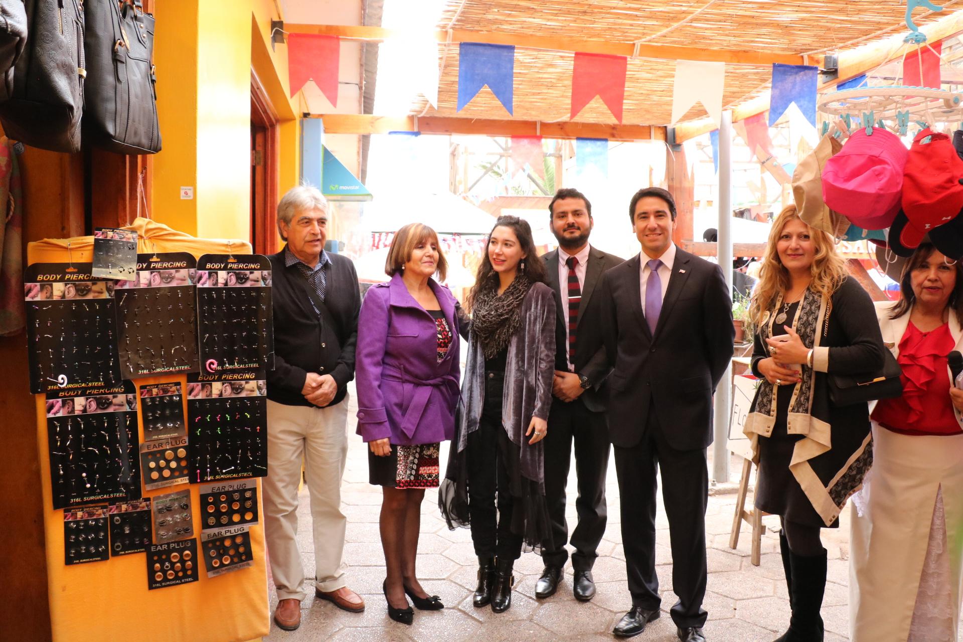 Con Boulevard Dieciochero comerciantes de Vallenar dan el vamos a las fiestas patrias
