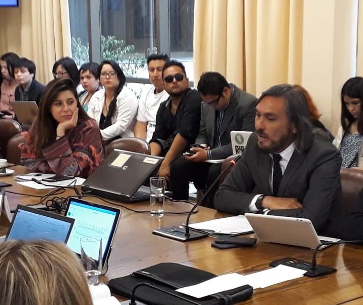 Alcalde de Huasco informa sobre situación ambiental de la comuna en Comisión de Medio Ambiente del Congreso