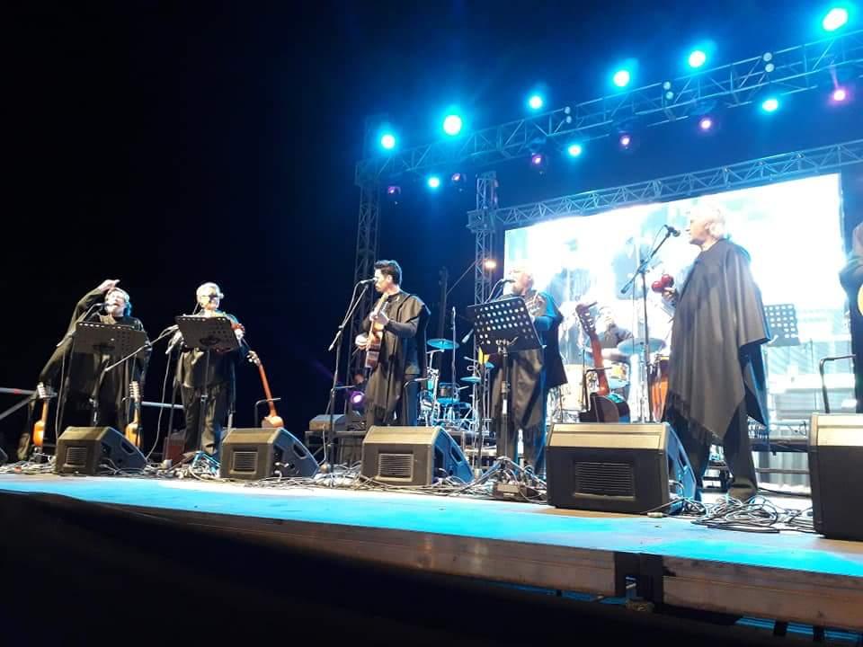 """La comunidad llegó """"en masa"""" al cierre de las Fiestas Patrias en Vallenar"""