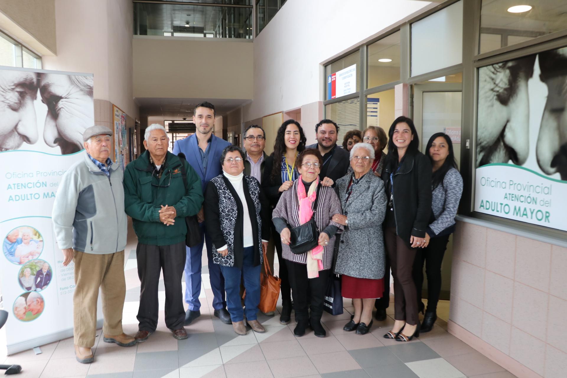 Senama de Atacama destaca creación de oficina del Adulto Mayor del Hospital provincial del Huasco