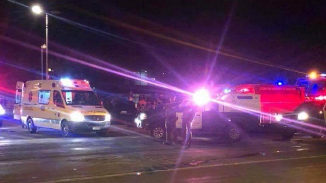 Un fallecido y cinco lesionados graves deja accidente ocurrido en Vallenar en fiestas patrias