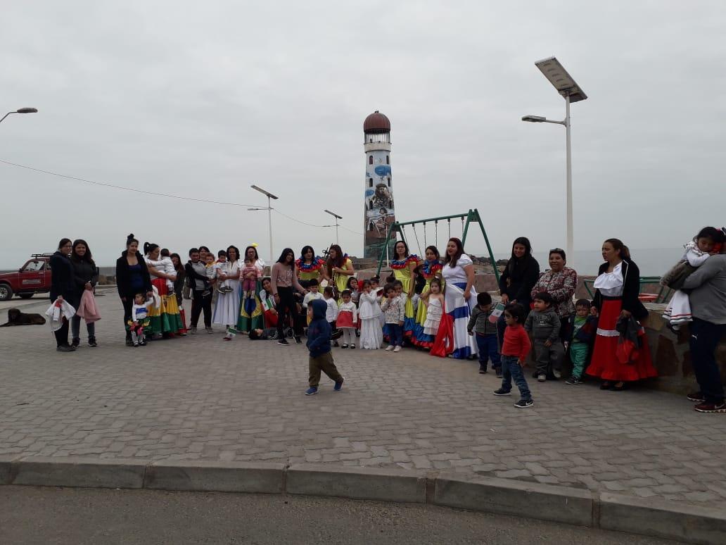 Familias participaron en caminata por el buen trato en Huasco
