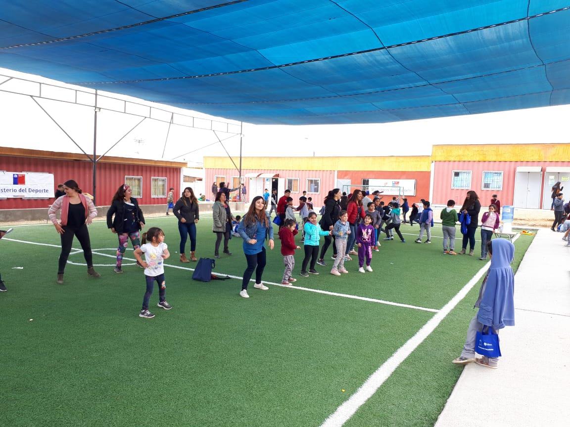 Escuela Mireya Zuleta de Huasco se compromete con la actividad física y la vida saludable