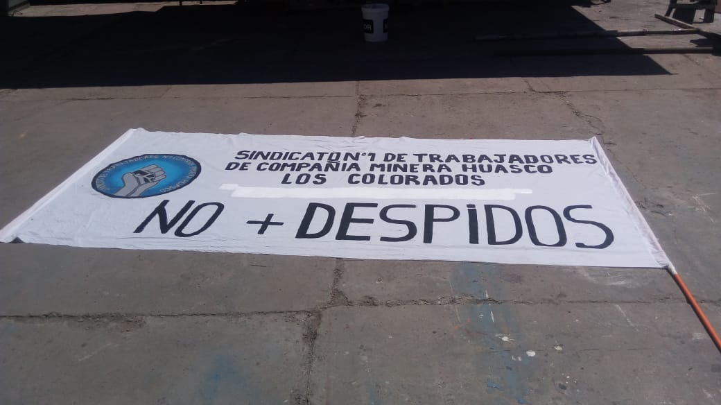 Trabajadores de CAP se manifiestan ante desvinculaciones laborales en el Huasco