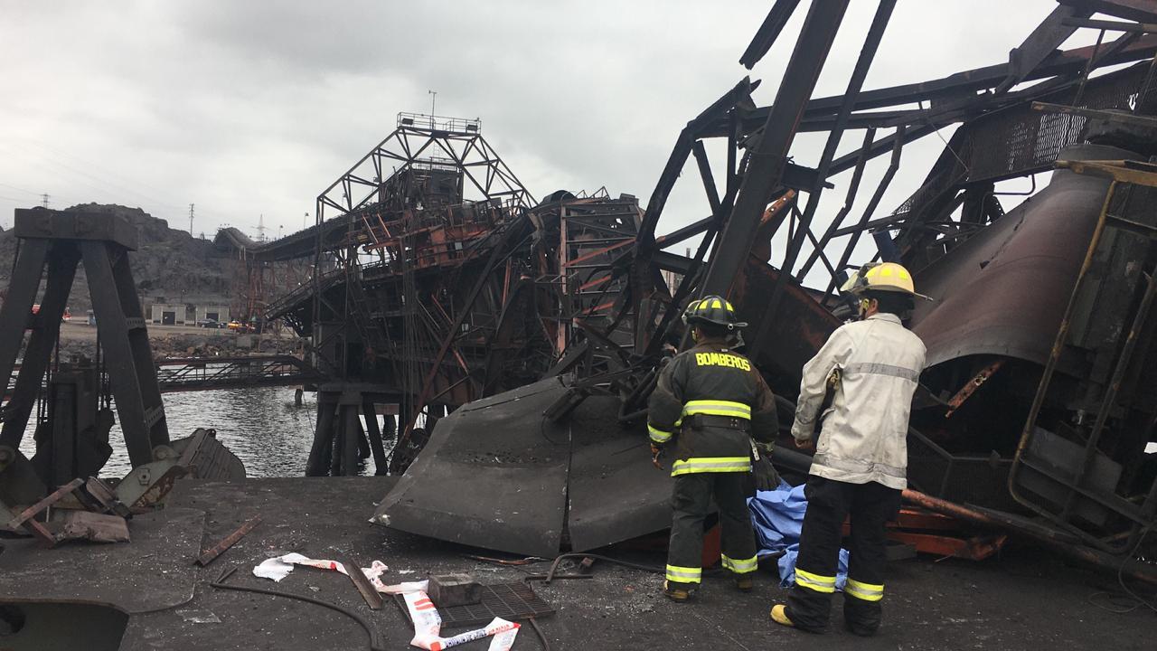 Fiscalía dirige diligencias por fatal  accidente en puerto de carga en Huasco