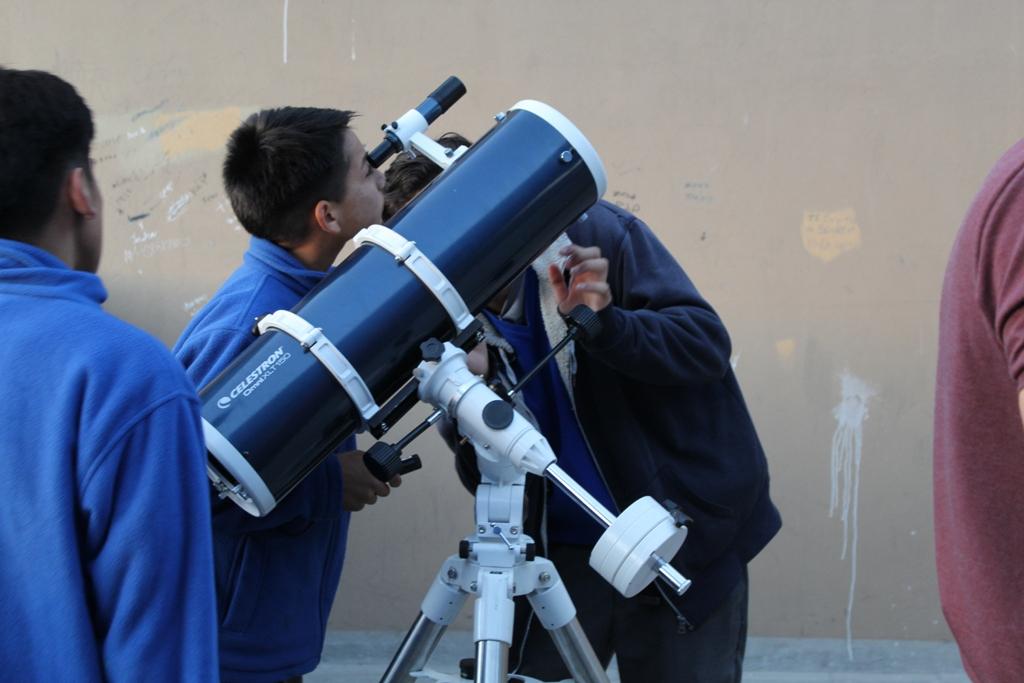 Escuela Hermanos Carrera realiza Primer Encuentro de Astronomía en Vallenar