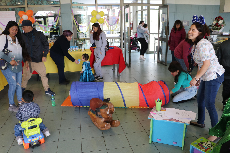 Con fiesta, globos y alegría HPH cerró semana del Prematuro
