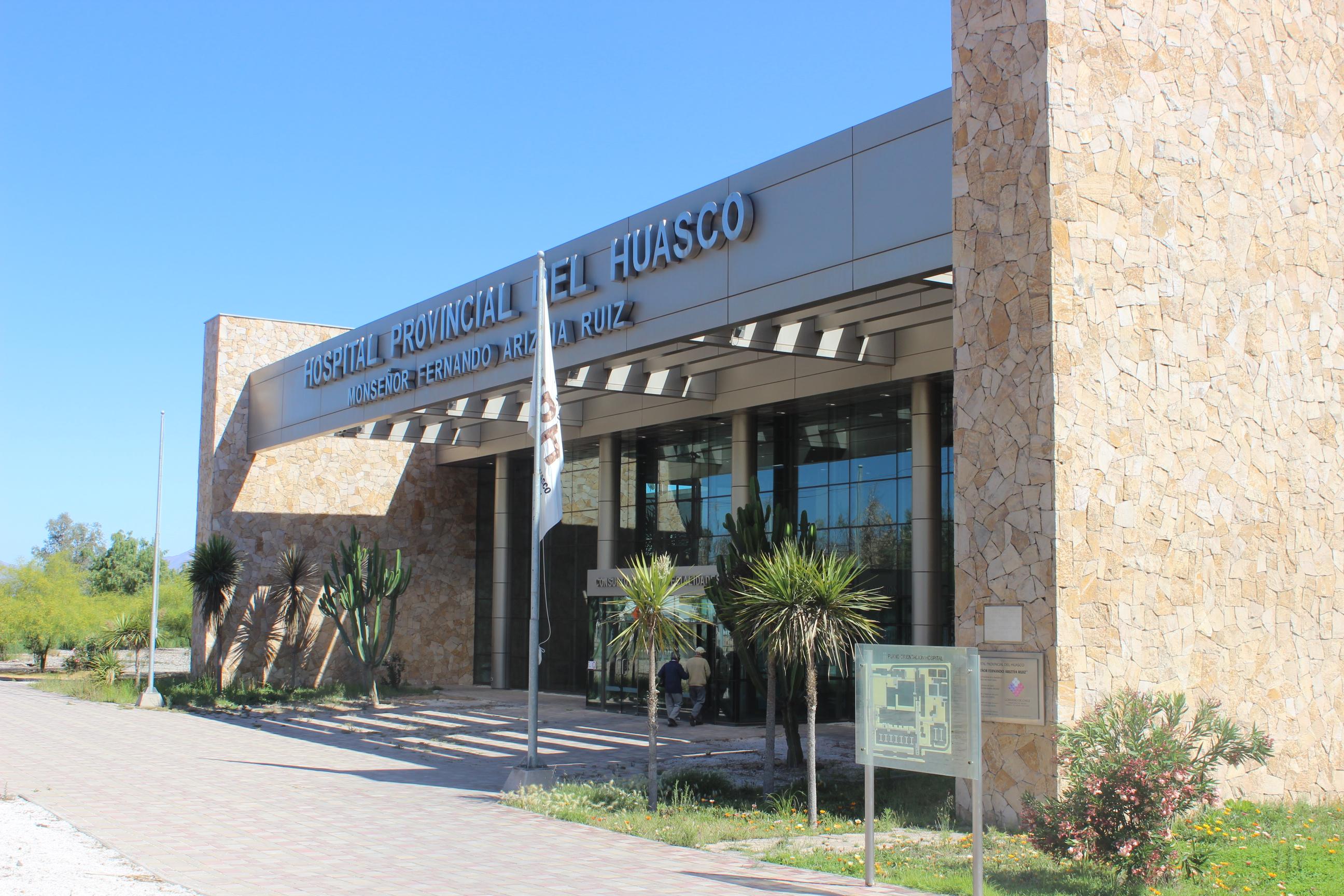 Hospital Provincial del Huasco toma medidas de atención ante contingencia