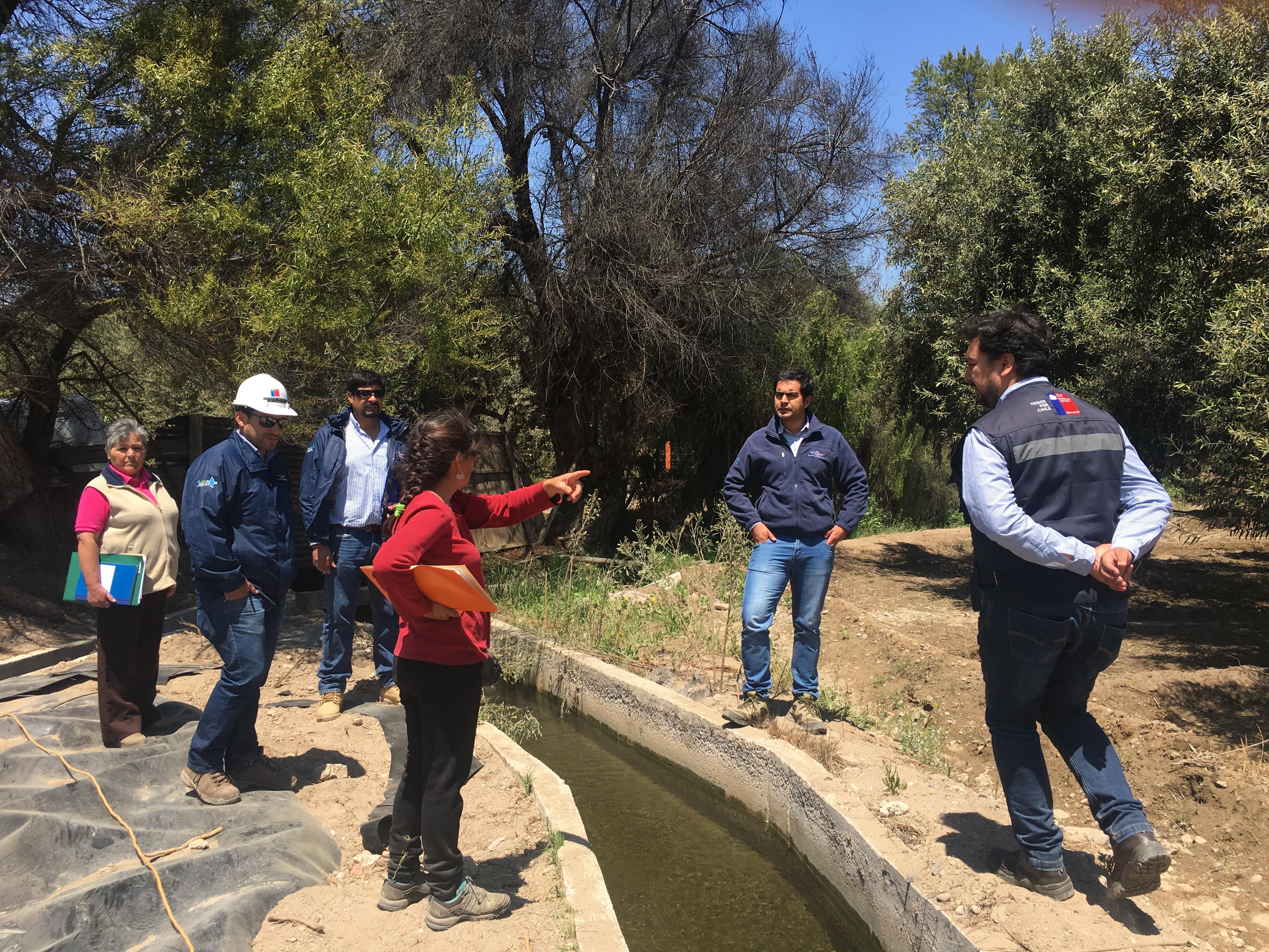 Autoridades recorren iniciativas ejecutadas por convenio CNR-GORE Atacama en Freirina y Huasco