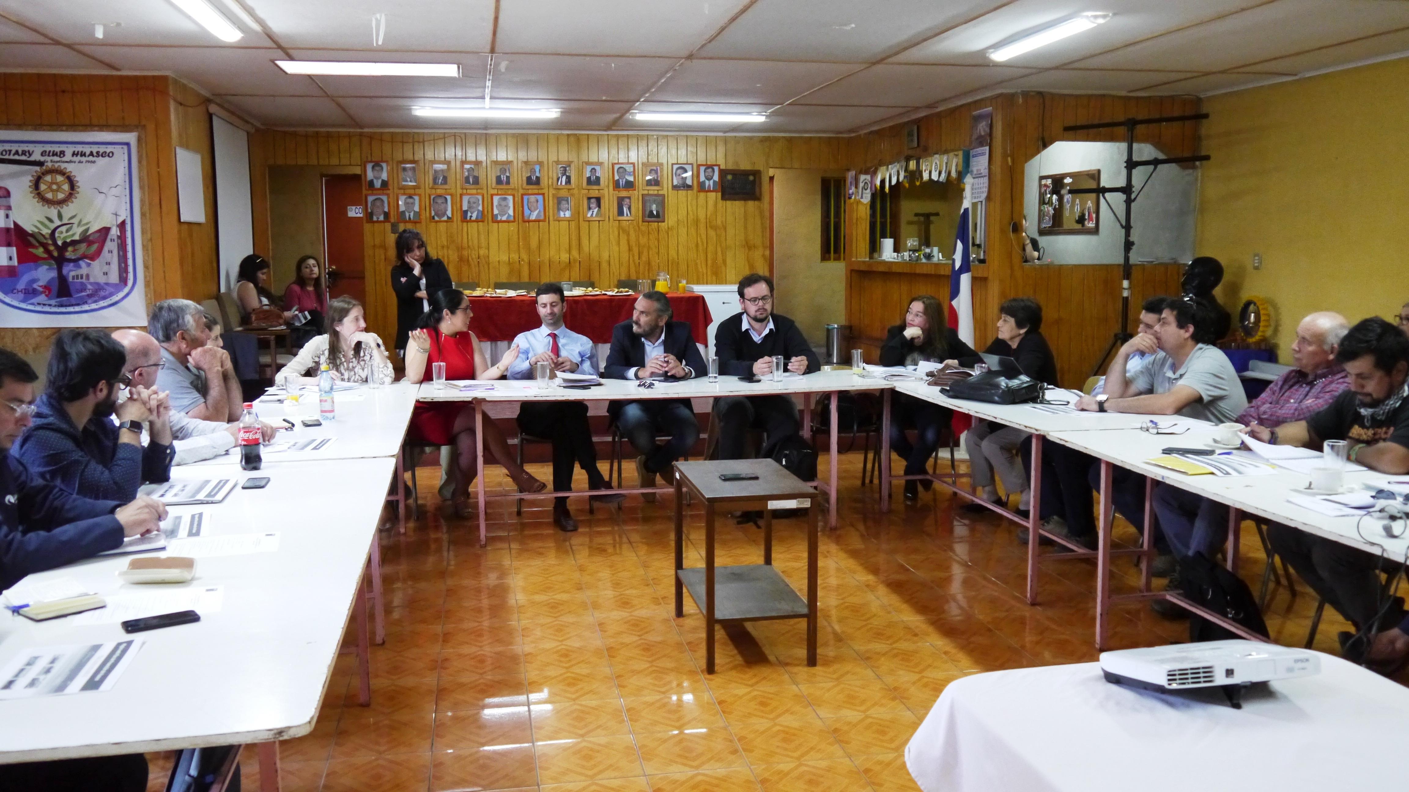 Consejo para la Recuperación Ambiental y Social  se reunió en Huasco