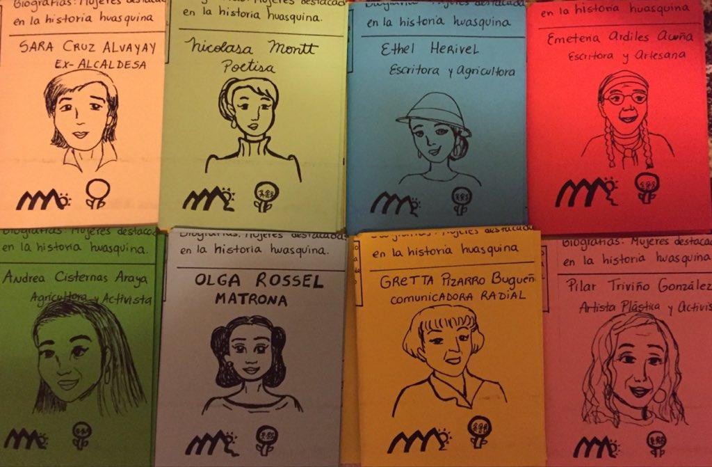 Proyecto retrata vida de mujeres huasquinas mediante fanzines