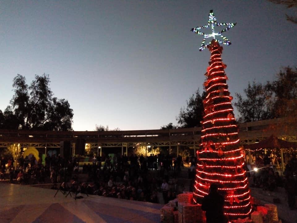 En sectores urbanos y rurales Vallenar recibe la Navidad