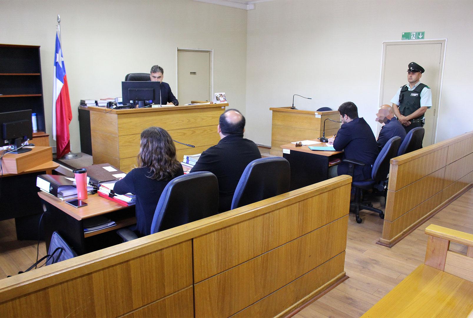 En prisión preventiva ex carabinero formalizado por distintos delitos cometidos en Huasco