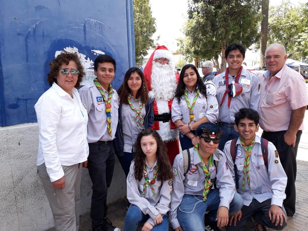 Niños de escuela El Olivillo tuvieron su fiesta de Navidad