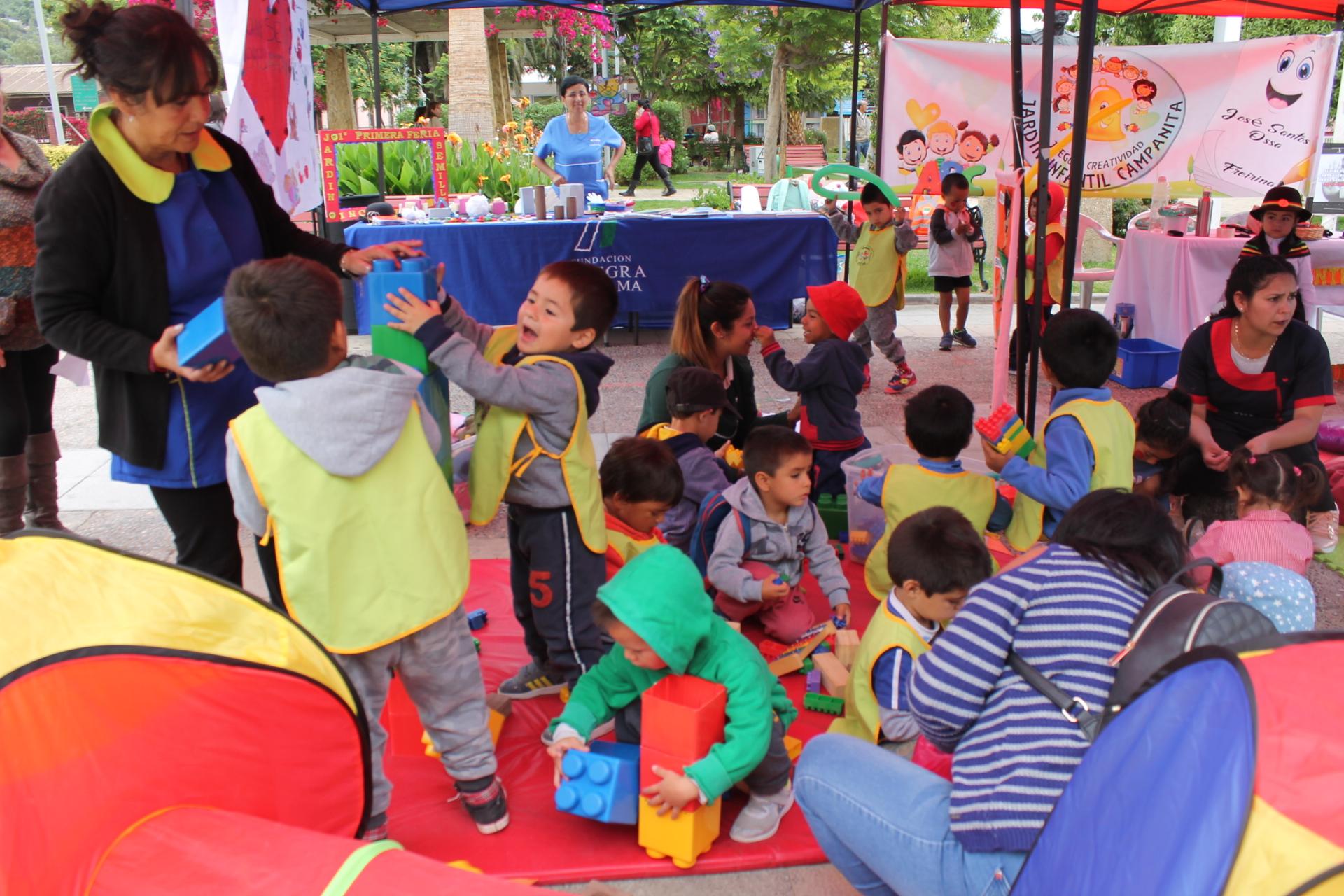 Feria ciudadana promovió la inclusión desde la primera infancia en Freirina