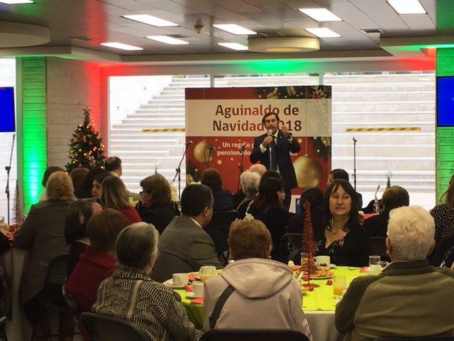 Más de 26 mil 500 pensionados serán beneficiados con el Aguinaldo de Navidad en Atacama
