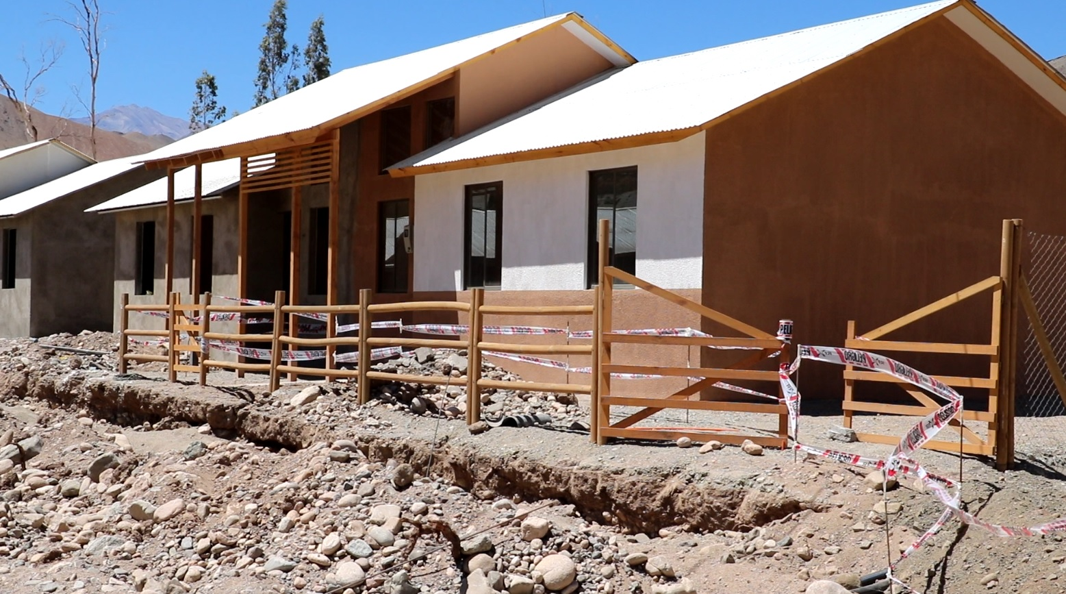 57% de avance presenta proyecto habitacional de reconstrucción La Cebada