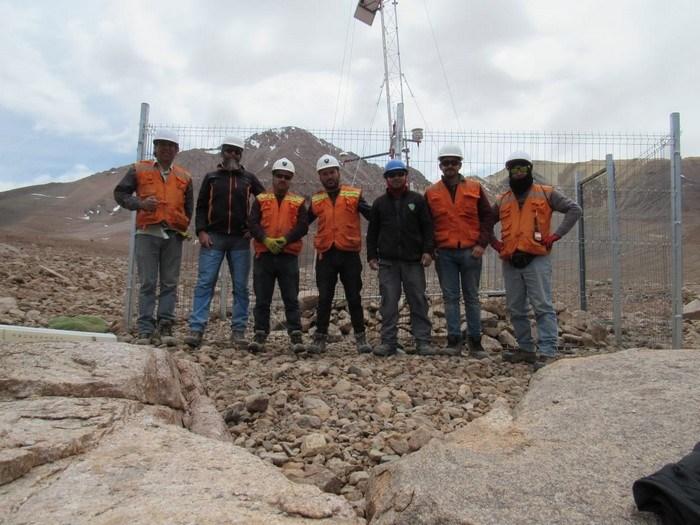 Se instalaron dos estaciones meteorológicas de alta tecnología en los sectores cordilleranos del Huasco