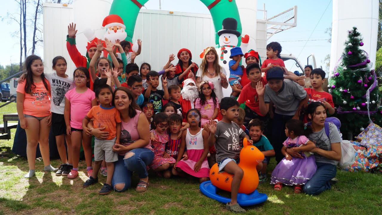 Niños de Vallenar disfrutaron de entretenida actividad navideña del Fosis