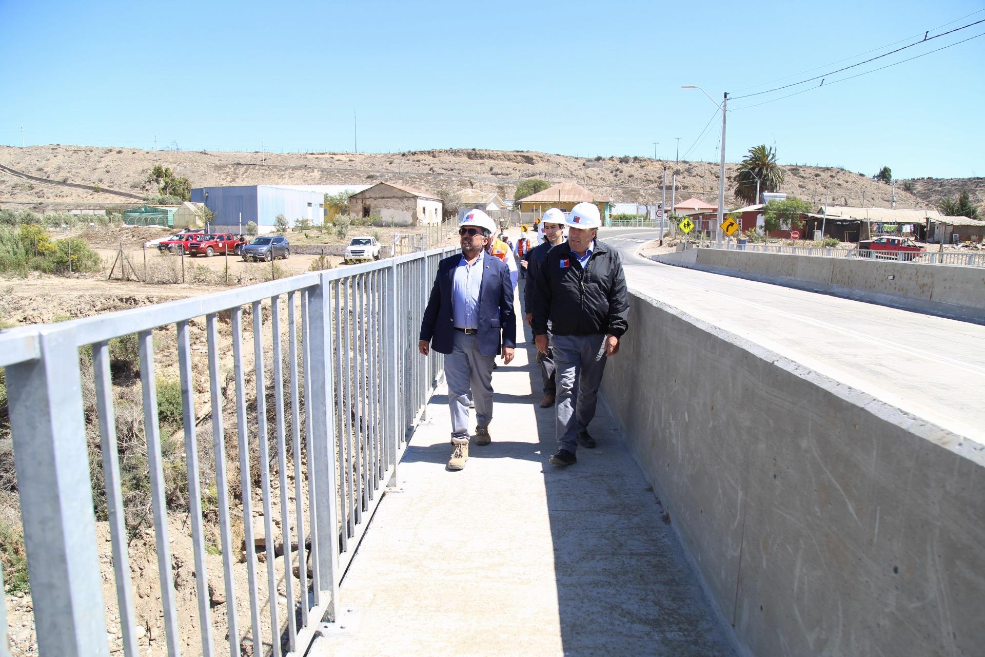 ExIntendenta de Atacama y alcaldes de la provincia manifiestan molestia por visita a puente Nicolasa