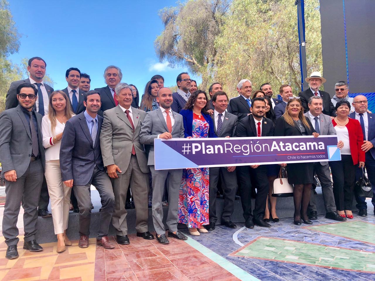Gobernador Patricio Urquieta destacó los alcances del plan regional de Atacama