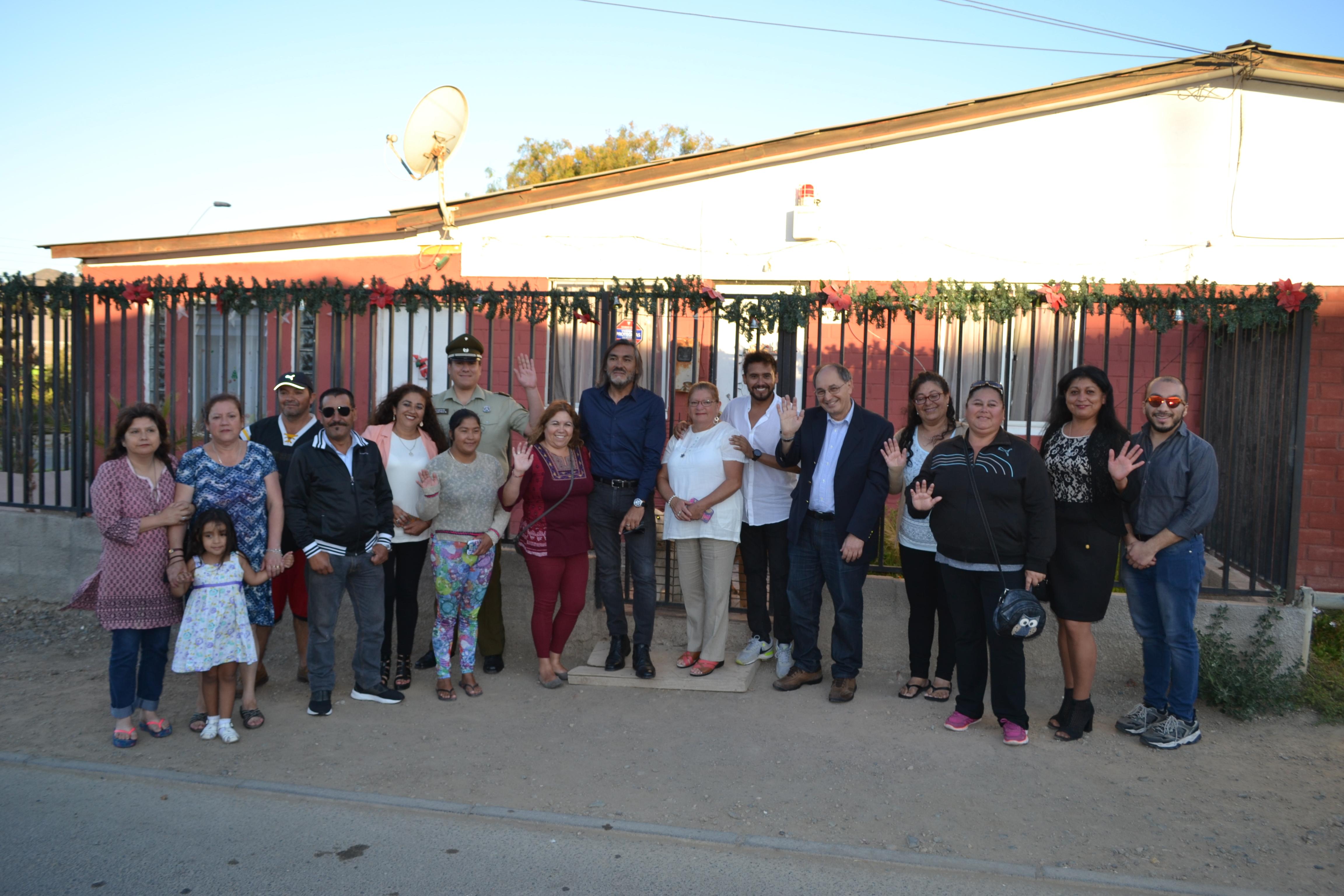 Vecinos de Huasco refuerzan su sistema de seguridad gracias a AES Gener