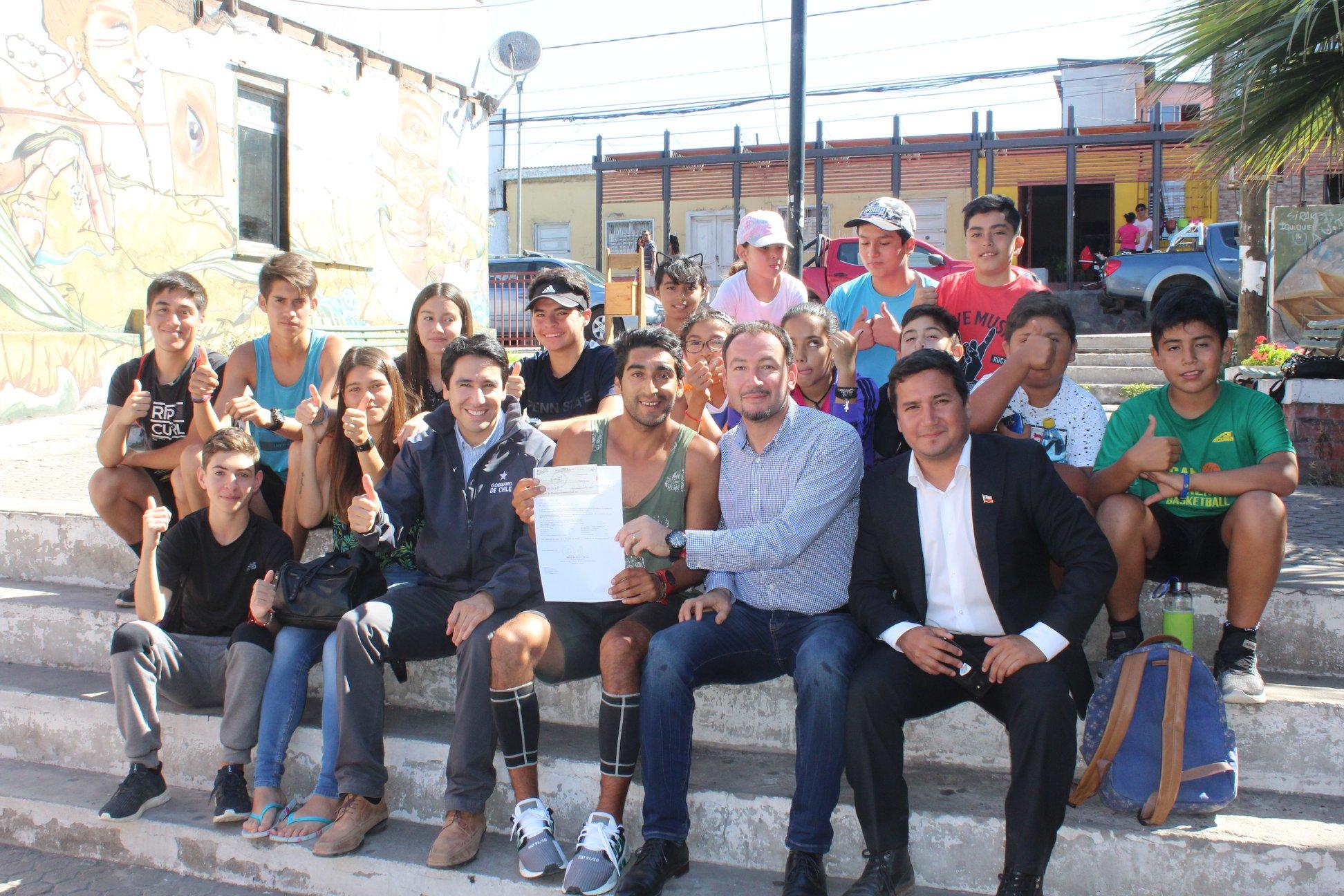 Atletismo huasquino crece con aportes del ministerio del Deporte