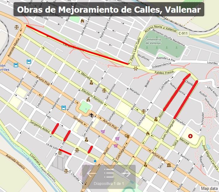 Seis meses durará segunda etapa de arreglos en calles de Vallenar