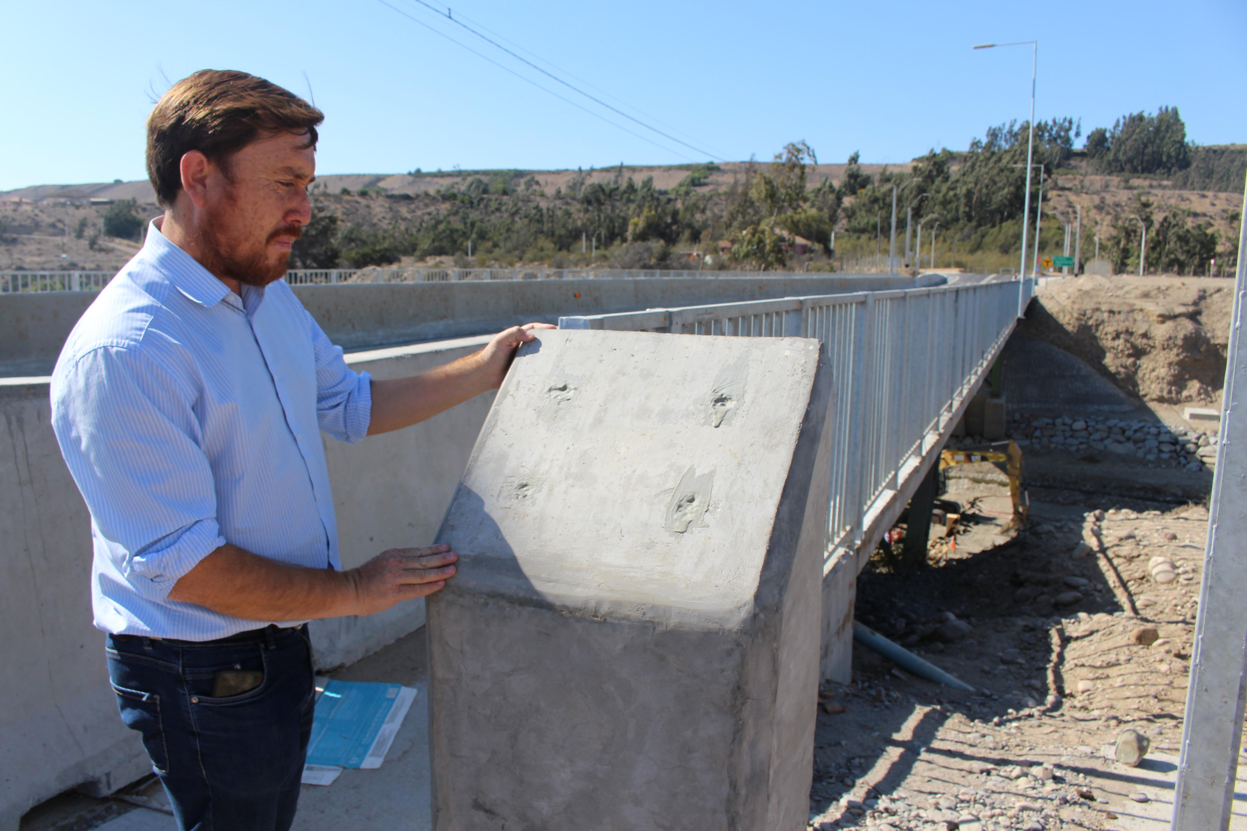 Alcalde César Orellana molesto porque autoridades regionales se atribuyen construcción de Puente Nicolasa en Freirina