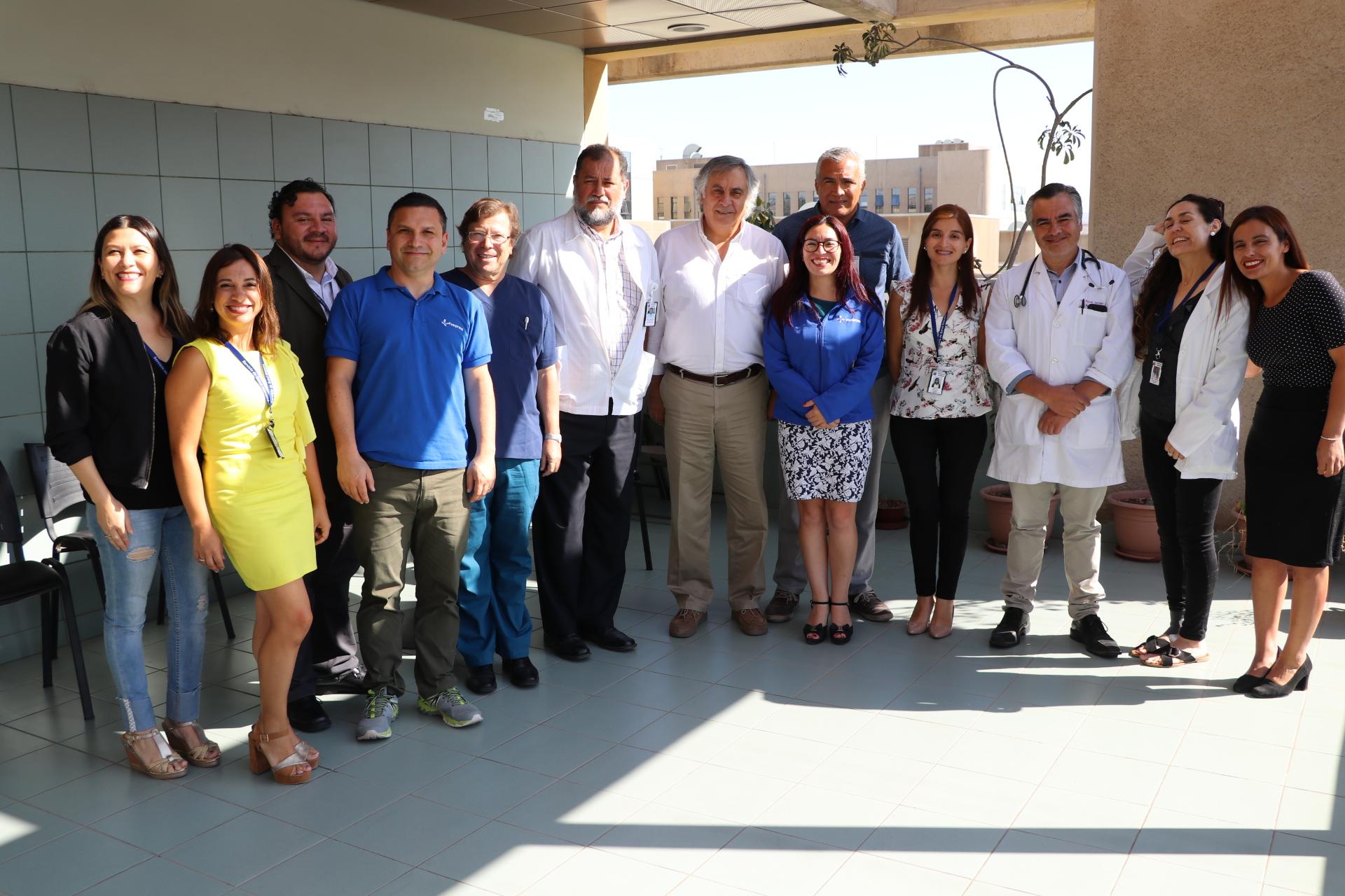 Funcionarios del Hospital se reúnen con autoridades para sacar adelante proyecto de jardín infantil y sala cuna en el HPH