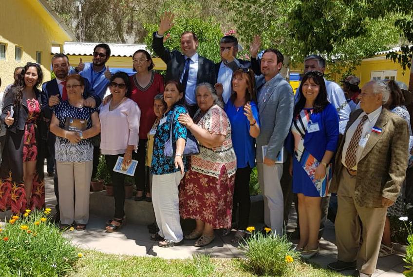 Inauguran casa de acogida adultos mayores en El Tránsito