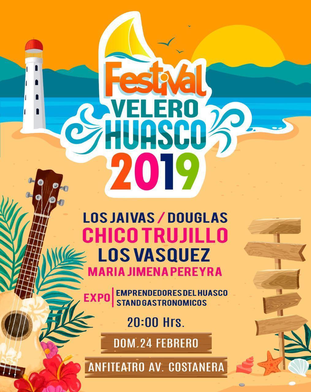 Huasco realizará el Festival El Velero 2019