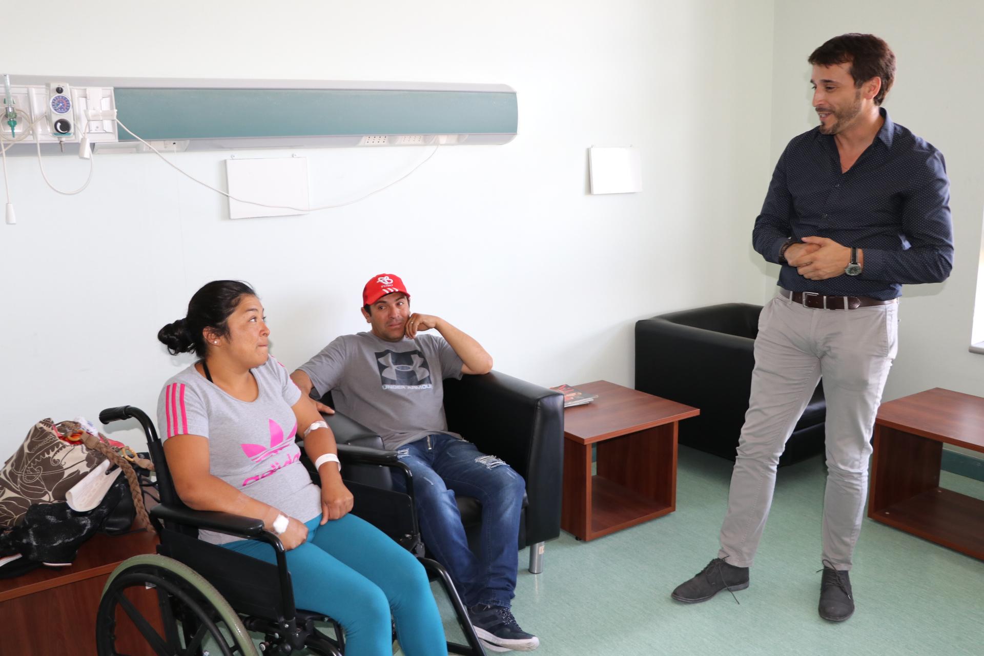 HPH implementa sala de prealta clínica para usuarios de servicios de medicina y cirugía