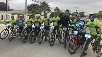 Team Guanacos de Vallenar obtiene logros en torneos ciclísticos