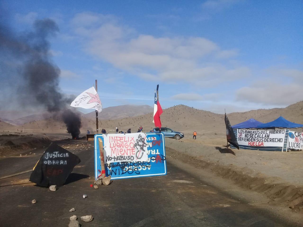 Federación Nacional del Hierro y Acero responde a comentarios de sindicato n° 1 en huelga