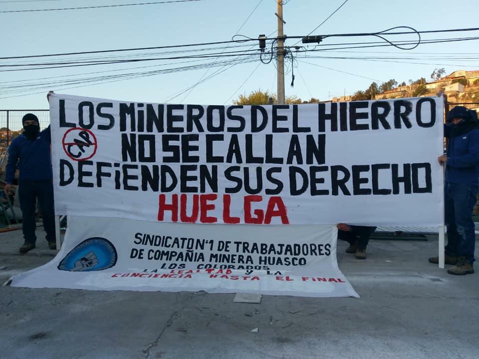 Sindicato n° 1 de Los Colorados continúa huelga que ya completa más de una semana