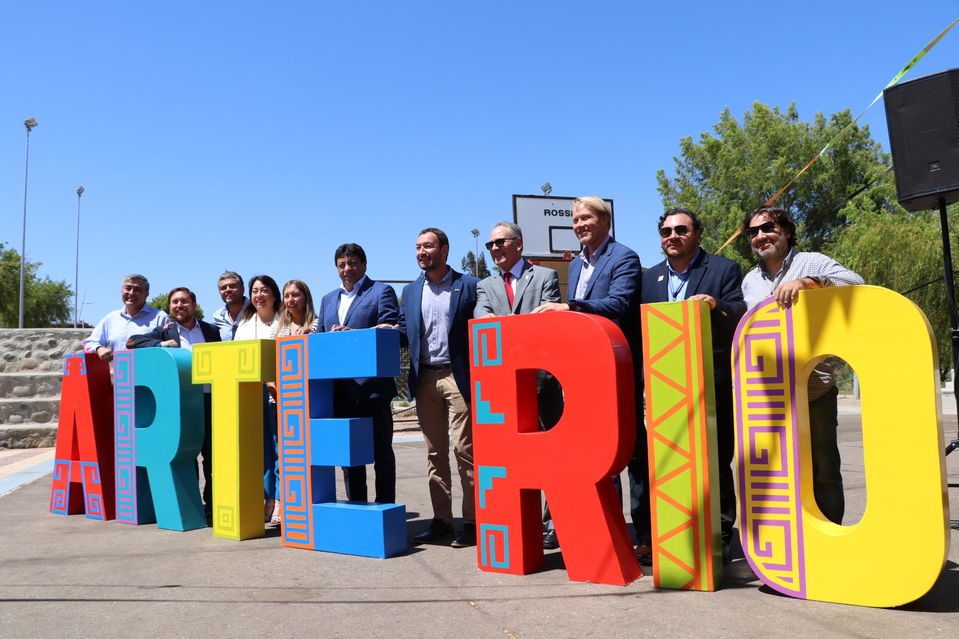 Artistas del Huasco presentan fiesta cultural ArteRío en Vallenar
