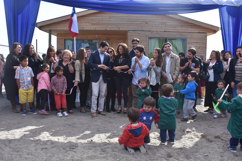 Pingüinos de Humboldt: inauguran primer establecimiento de educación parvularia en Chañaral de Aceituno