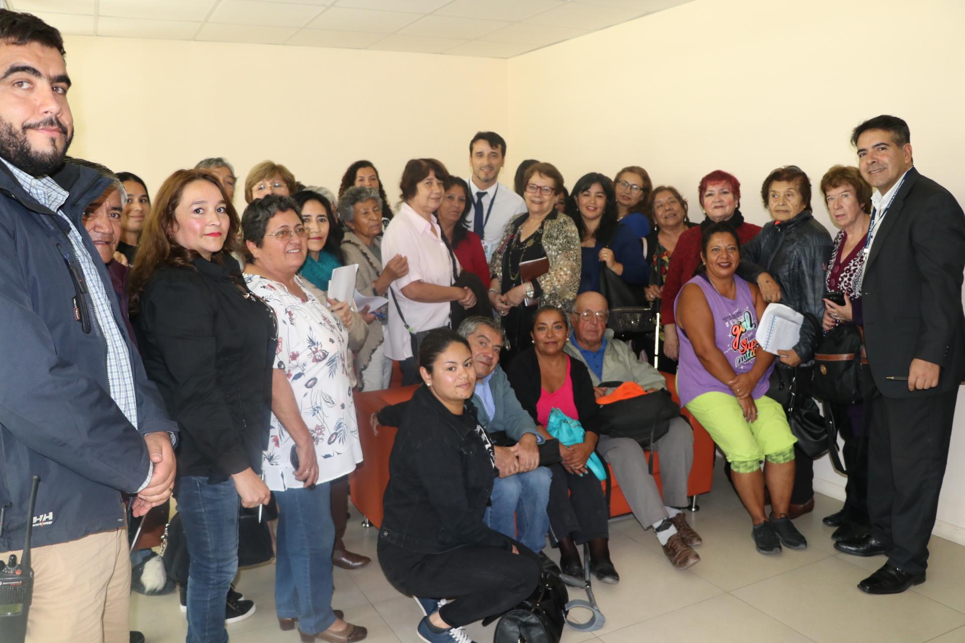Integrantes de Consejo de la Sociedad Civil firman compromiso con la Salud de Atacama