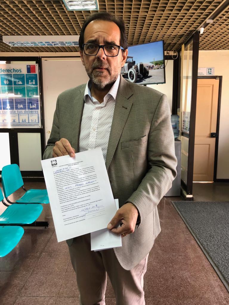 Diputado Mulet y autoridades locales se realizan test de drogas en Copiapó