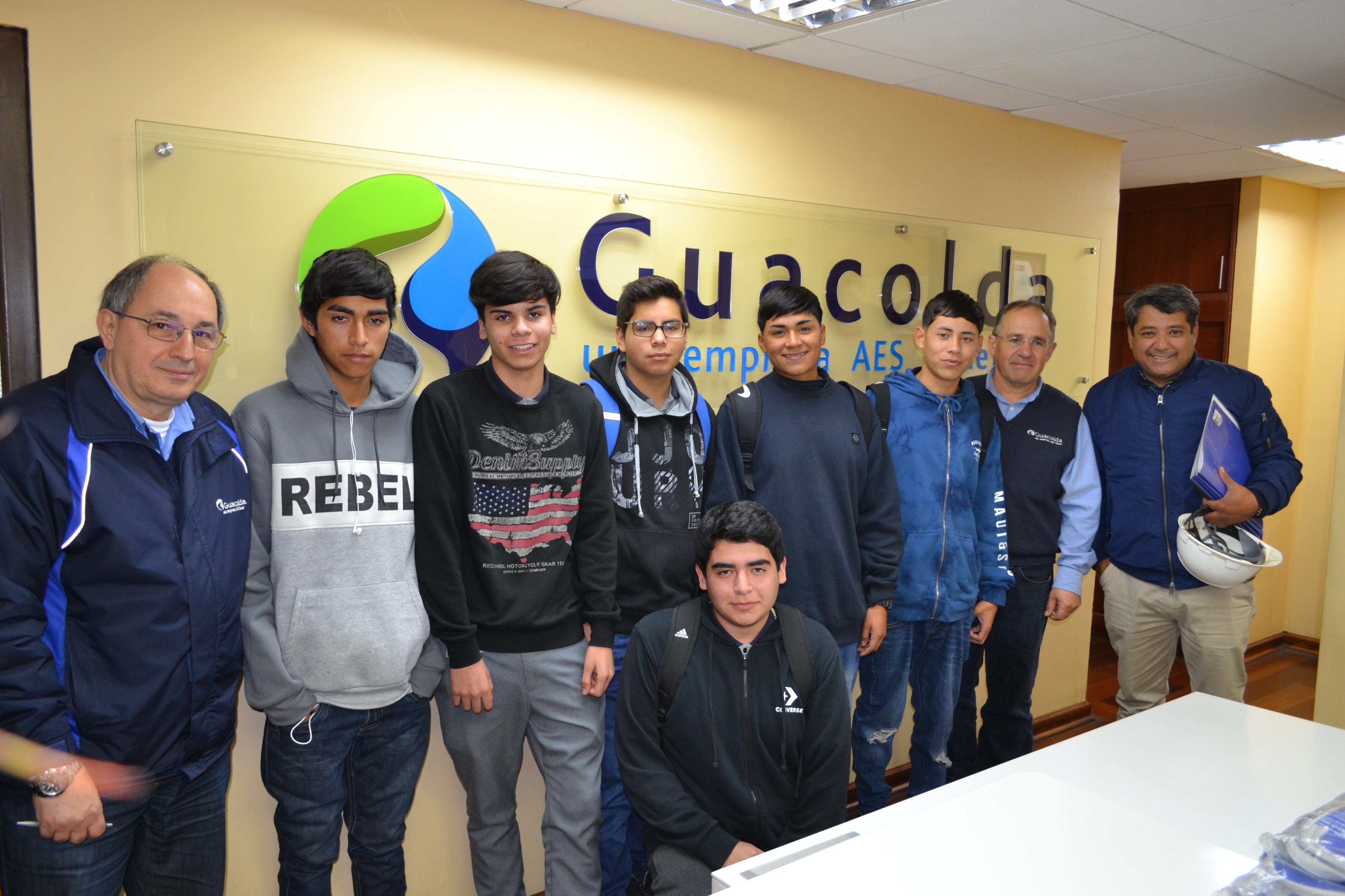 Estudiantes del Liceo José Santos Ossa Vallenar inician su periodo de formación dual en Guacolda