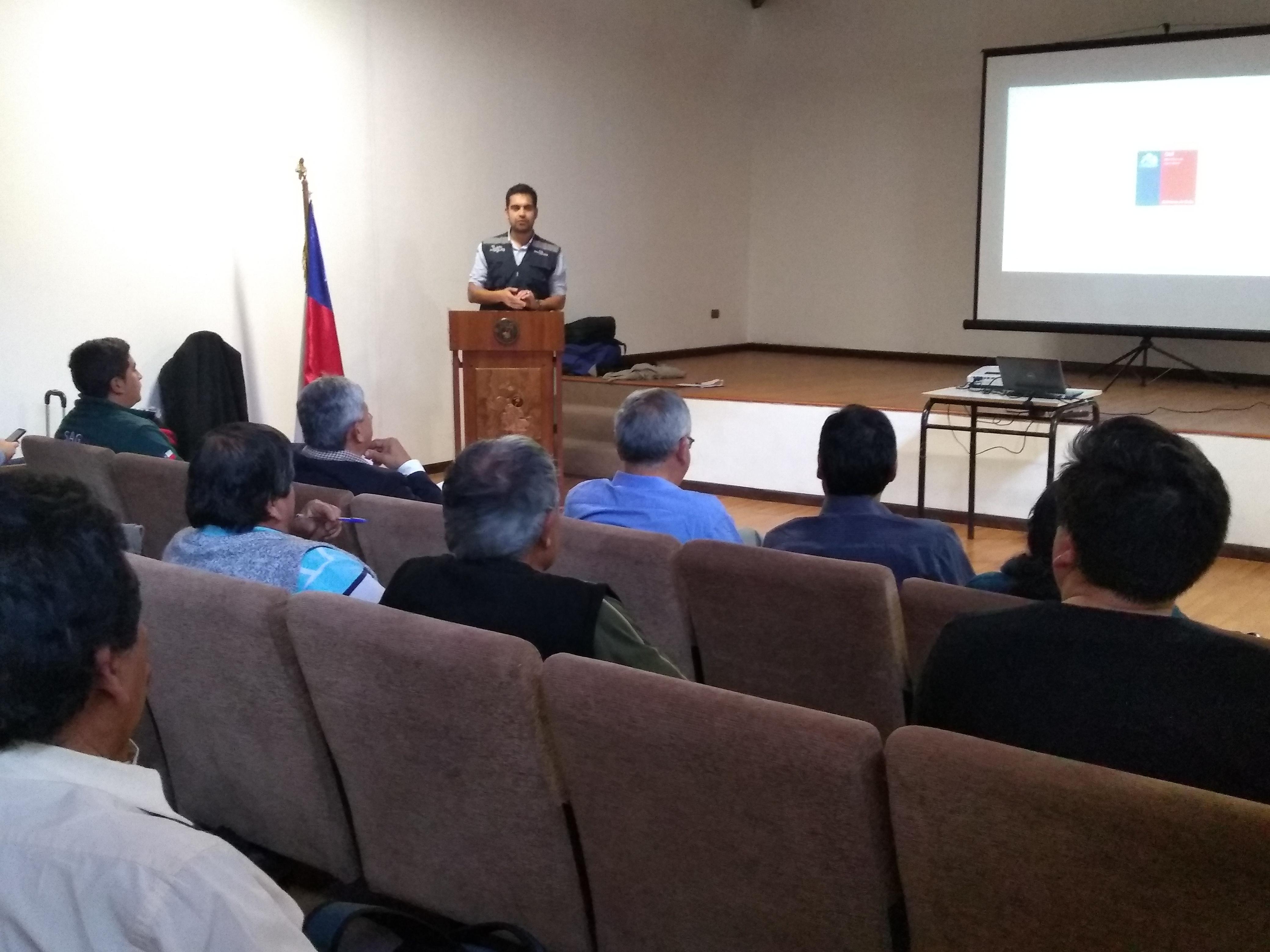 Comisión Nacional de Riego identifica desafíos en infraestructura de riego para valles de El Tránsito y El Carmen