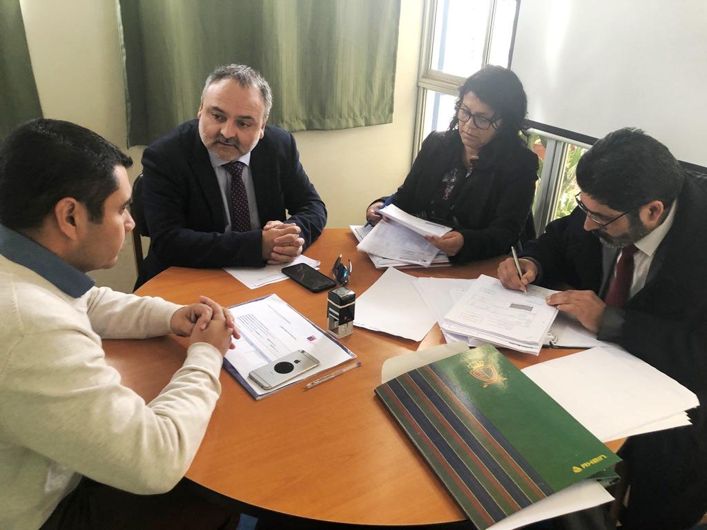 Director SLEP Huasco se reúne con directores de Freirina y Huasco para definir lineamientos educacionales