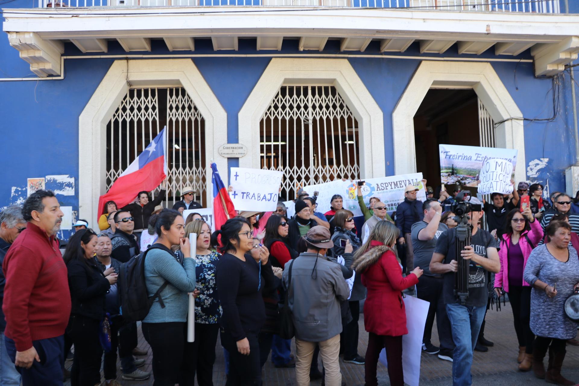 Vecinos marchan por Vallenar solicitando más progreso y desarrollo para la provincia