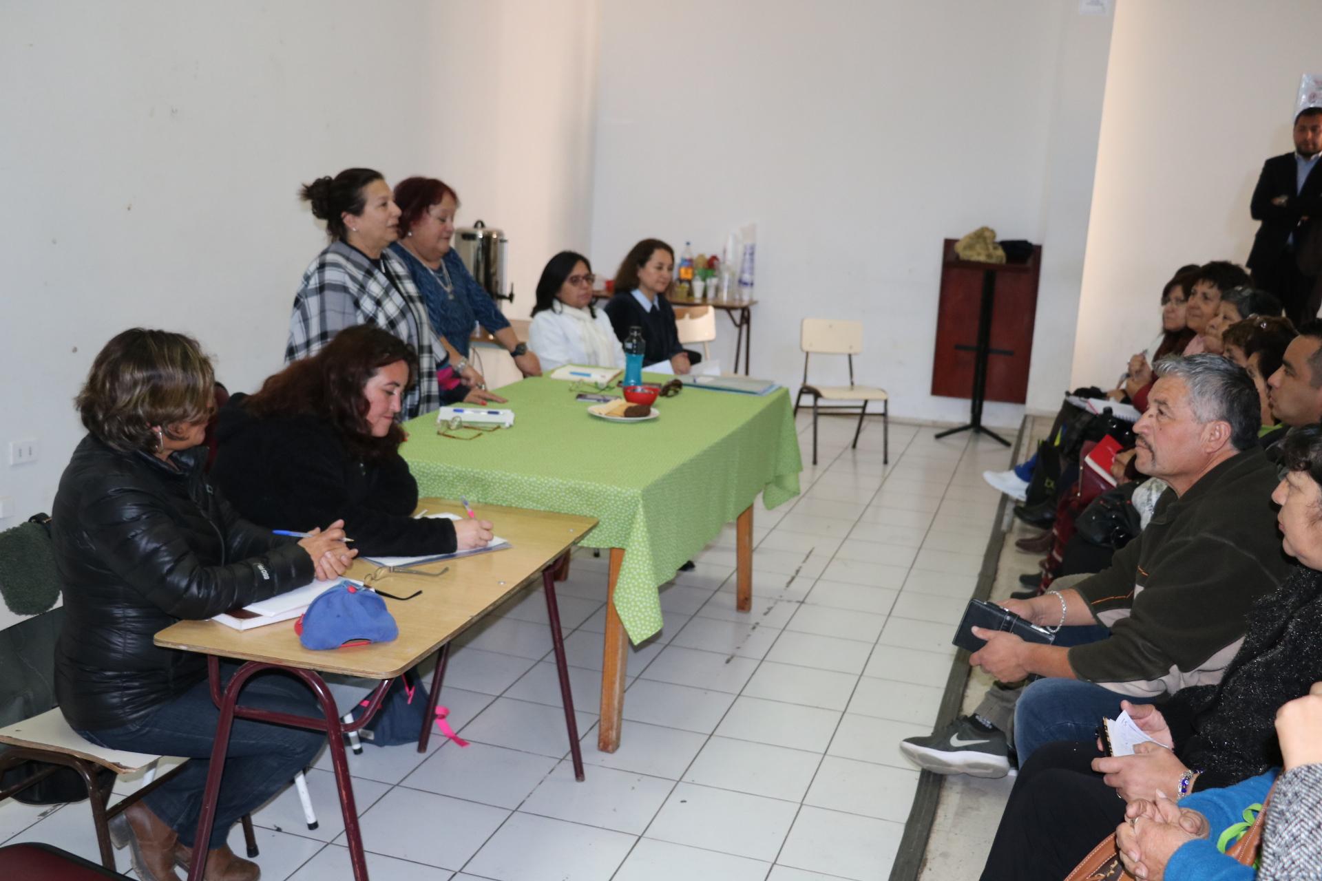 Gobernadora del Huasco, Nelly Galeb destaca labor de dirigentes rurales