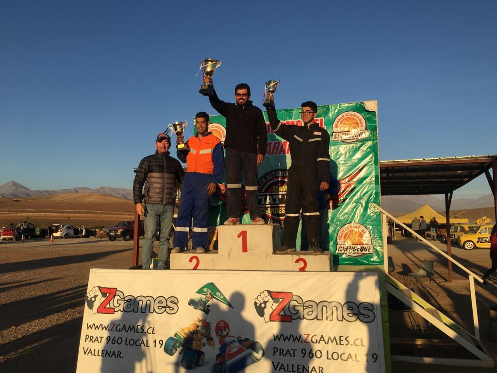 Seremi del Deporte premió a los campeones de la sexta del campeonato de automovilismo de Fiat 600