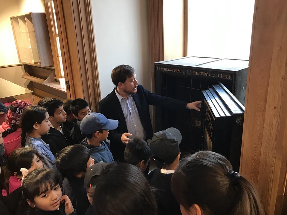 Alumnos de la escuela de Maitencillo visitaron sala museográfica